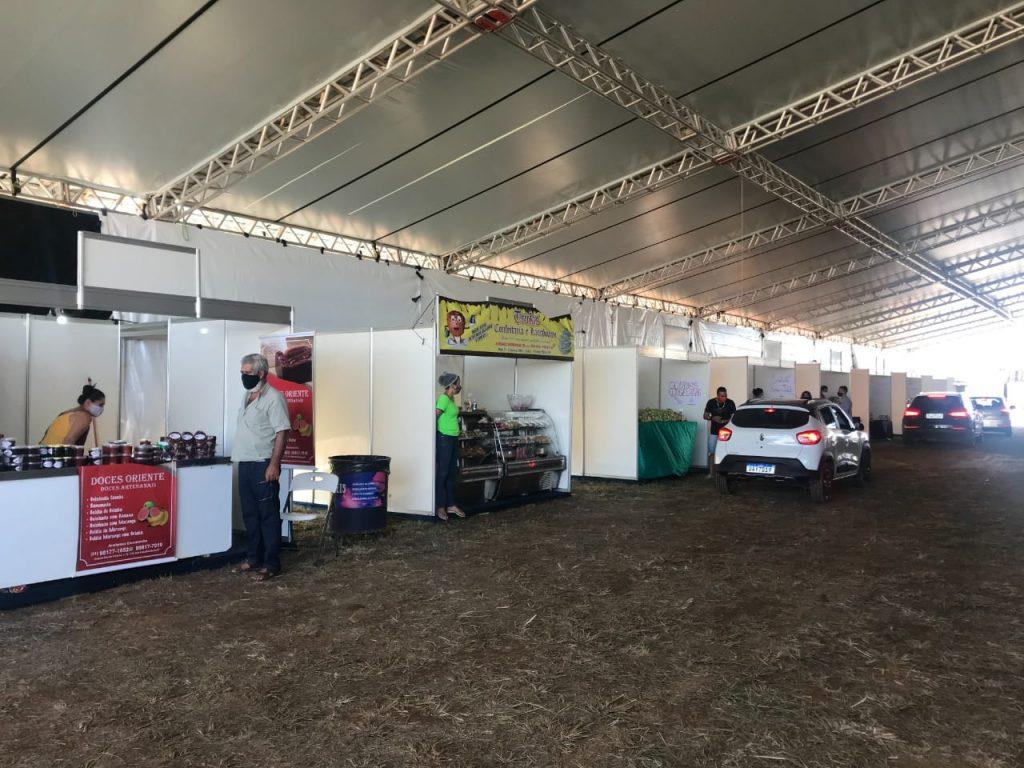 imagem da feira da goiaba em brazlândia df