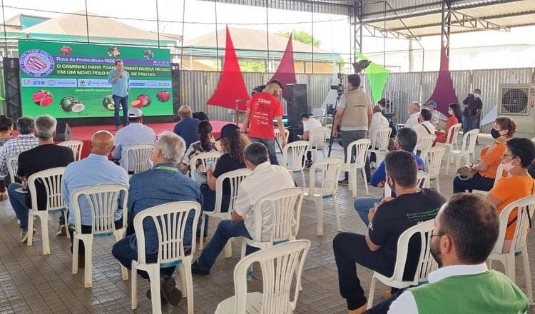Brazlândia, considerada principal polo de fruticultura do Distrito Federal protagonizou mais uma reunião de mobilização da Rota da Fruticultura RIDE-DF